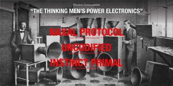 Naxal Protocol + Uncodified live in Milano
